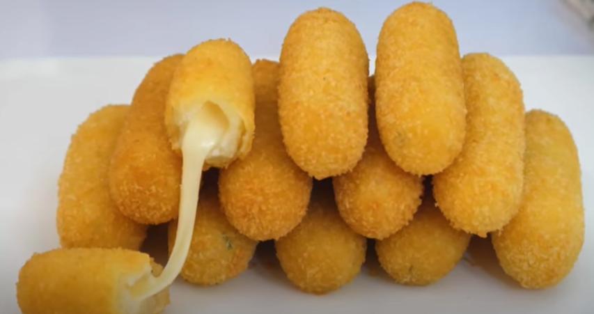 Croquetas de patata con queso